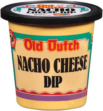 Old Dutch Nacho Cheese Dip   Plastic Container