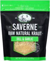 Saverne® Raw Natural Dill & Garlic Kraut 16 oz. Pouch