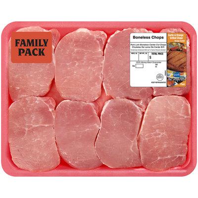 Farmland® Pork Loin Boneless Center Cut Chops Tray