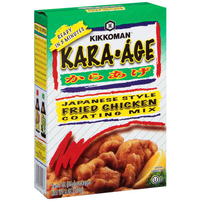 Kikkoman® Kara-Age Japanese Style Coating Mix 2-3 oz. Packets