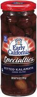 EARLY CALIFORNIA Pitted Kalamata Greek Specialties 6 OZ JAR