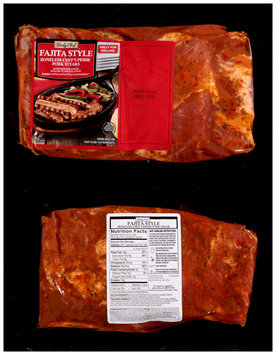 Daily Chef® Fajita Style Boneless Chef's Prime Pork Steaks Pack