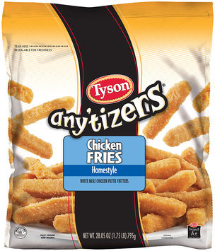 Any'tizers Chicken Fries Homestyle 28.05 Oz Bag