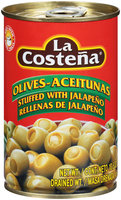 La Costena® Olives Stuffed with Jalapeno 10.5 oz. Can