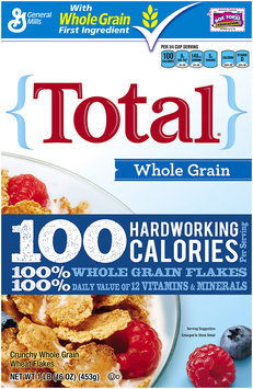 Total® Whole Grain Cereal 16 oz. Box
