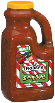 T.G.I. FRIDAY'S Medium Salsa 68 OZ JUG