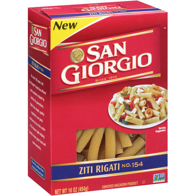 San Giorgio® Ziti Rigati 16 oz. Box