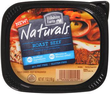 Hillshire Farm Naturals® Roast Beef 7 oz. Tub