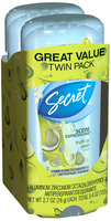 Secret® Scent Expressions Truth or Pear Clear Gel Antiperspirant & Deodorant 2-2.7 oz. Pack