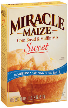 Miracle Maize® Sweet Corn Bread & Muffin Mix 18 oz. Box