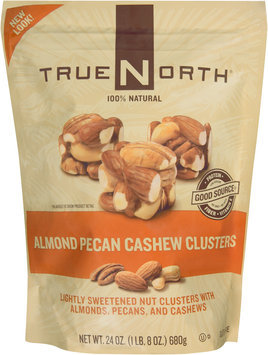 TrueNorth® Almond Pecan Cashew Clusters Nuts 24 oz. Stand-Up Bag