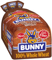 Bunny® 100% Whole Wheat 16 oz. Loaf