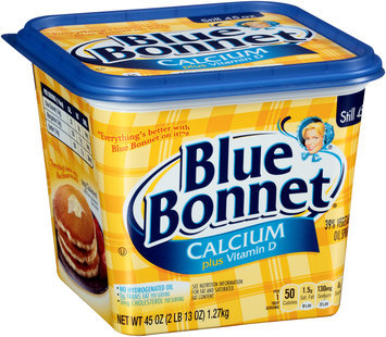 Blue Bonnet® Calcium plus Vitamin D 39% Vegetable Oil Spread 45 oz. Tub
