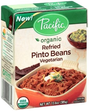 Pacific Organic Refried Vegetarian Pinto Beans