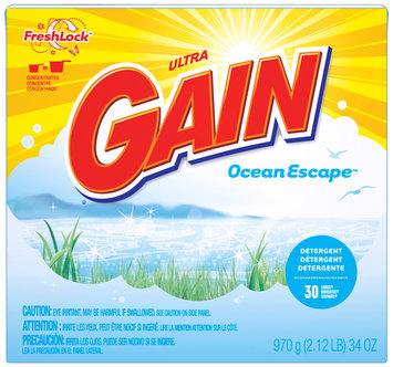 Gain® Ultra Ocean Escape with FreshLock Powder Laundry Detergent 34 oz. Box