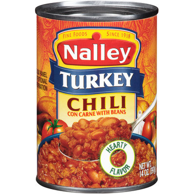Nalley® Turkey Chili con Carne with Beans 14 oz. Can