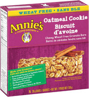 Annie's® Homegrown Oatmeal Cookie Chewy Wheat Free Granola Bars