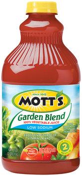 Mott's Garden Blend Low Sodium Vegetable Juice