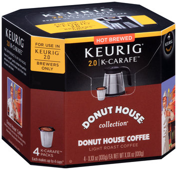 Donut House Collection® Light Roast Coffee K-Carafe™ Packs 4 ct Box
