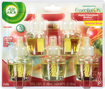 Air Wick®  Apple Cinnamon Medley® Scented Oil Refills 5 ct Pack