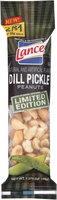 Lance® Dill Pickle Peanuts 1.375 oz. Bag