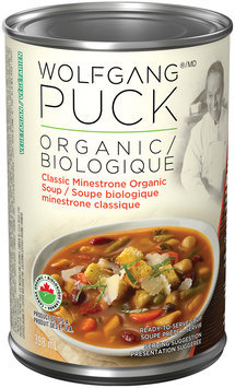 Wolfgang Puck® Organic Classic Minestrone Soup 398mL Can