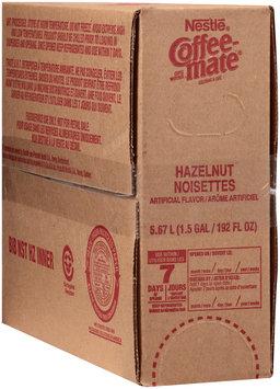 Nestlé Coffee-Mate Hazelnut Coffee Whitener 192 fl. oz. Box