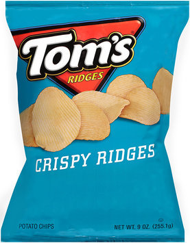 Tom's® Crispy Ridges Potato Chips 9 oz. Bag