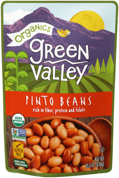 Green Valley® Organics Pinto Beans 15.5 oz. Pouch