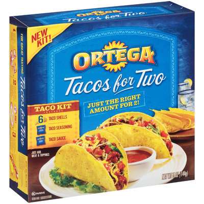 Ortega® Tacos for Two Taco Kit 5 oz. Box
