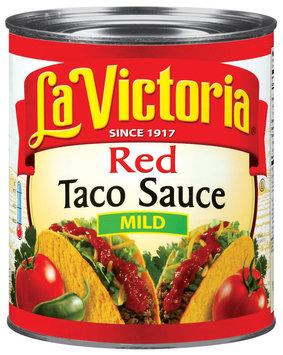 La Victoria® Mild Red Taco Sauce 106 oz. Can