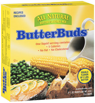 Butter Buds® All Natural Butter Flavored Mix 8-1.5 oz. Packet.