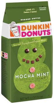 Dunkin' Donuts Mocha Mint Ground Coffee 11 Oz Bag
