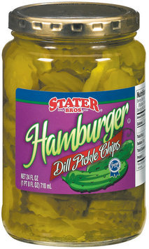 Stater Bros. Hamburger Dill Chips Pickles