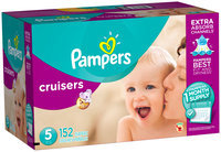 Premium Pampers Cruisers Diapers Size 5 152 count