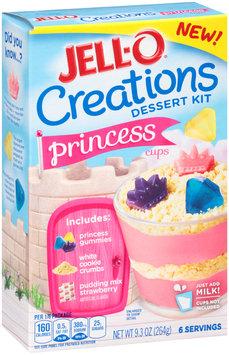 Jell-O® Creations Princess Cups Dessert Kit 9.3 oz. Box