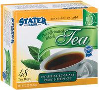 Stater Bros. Decaffeinated Orange Pekoe & Pekoe Cut Tea 3.25 Oz Box
