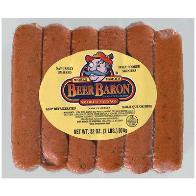 Reser's Fine Foods Beer Baron  Smoked Sausage  32 Oz Pack
