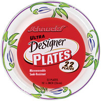 Schnucks Ultra Designer 10 1/4 Inch Plates 22 Ct Wrapper