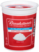 Breakstone's Small Curd 2% Milkfat Lowfat Cottage Cheese 32 oz. Tub