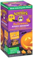 Annie's Homegrown® Halloween Bunny Grahams® Honey & Chocolate Whole Grain Graham Snacks