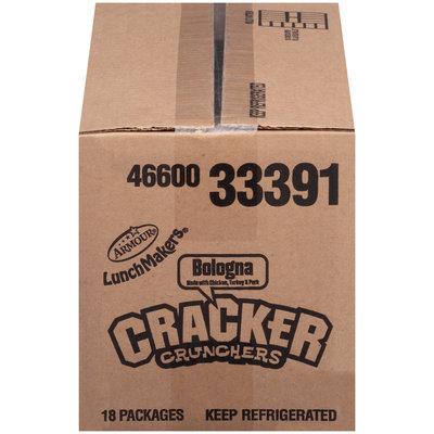 Armour® LunchMakers® Bologna Cracker Crunchers® with Nestlé® Butterfinger® Bar 2.6 oz. Tray