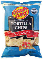 Golden Flake® Premium White Corn Sea Salt Tortilla Chips 16 oz. Bag
