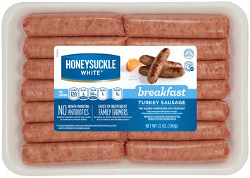 Honeysuckle White® Breakfast Turkey Sausage Links 12 oz. Tray