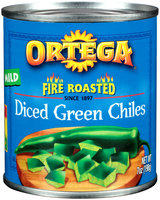 Ortega® Fire Roasted Diced Green Mild Chiles 7 oz. Can