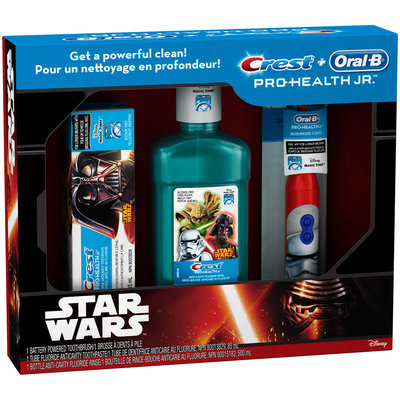 Mixed Crest & Oral-B Pro-Health Jr. Star Wars Gift Pack
