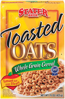 Stater Bros. Toasted Oats Cereal 15 Oz Box