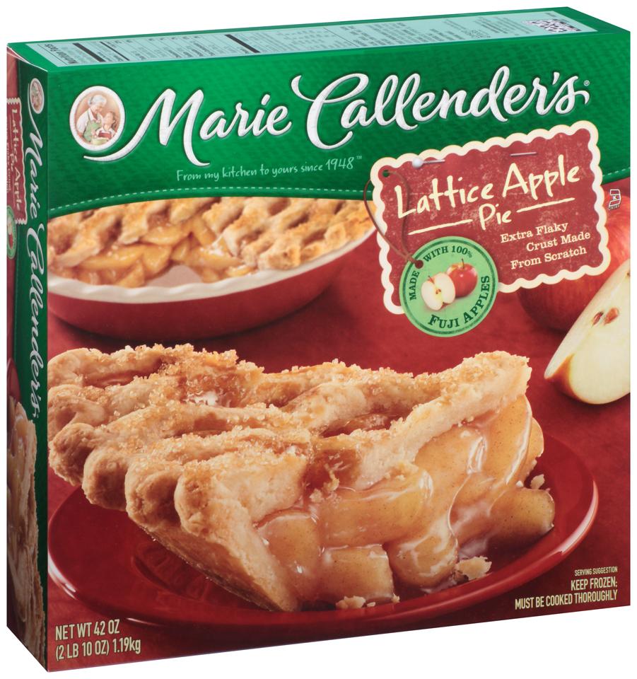Marie Callender's® Lattice Apple Pie 42 oz. Box