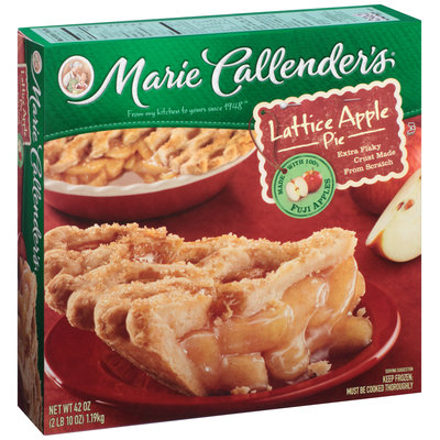 Marie Callender's® Lattice Apple Pie 42 oz. Box