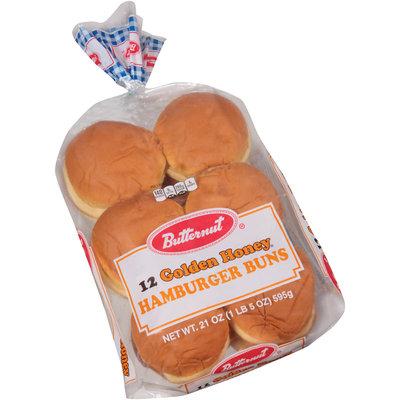Butternut® Golden Honey® Hamburger Buns 12 ct Bag